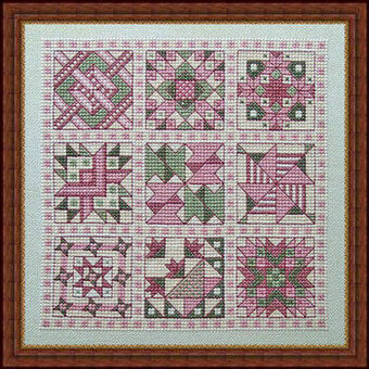 Whispered By The Wind Julias Quilt Cross Stitch Pattern