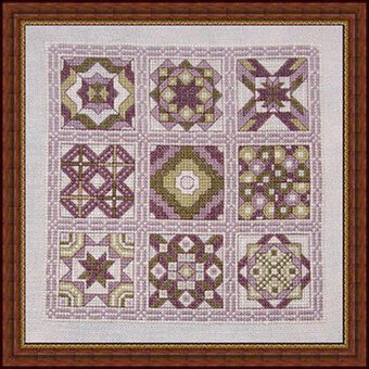 Bella's Quilt - Cross Stitch Pattern