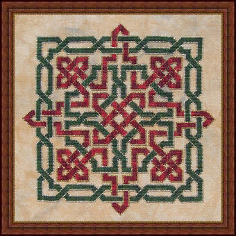 Christmas Knot  - Cross Stitch Pattern