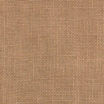 30 Count Cocoa Linen Fabric 17x26
