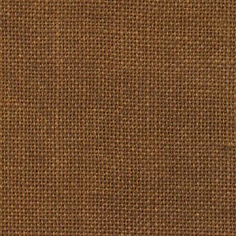 30 Count Chestnut Linen Fabric 26x35