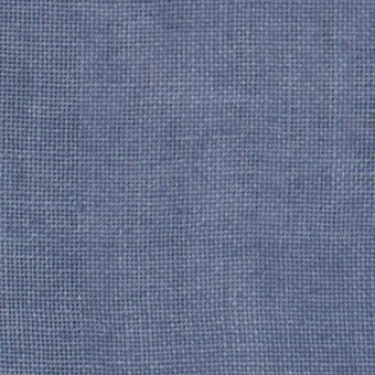 30 Count Blue Jeans Linen Fabric 8x12