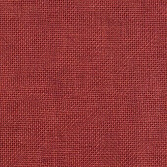 30 Count Aztec Red Linen Fabric 26x35
