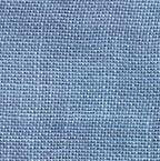 30 Count Periwinkle Linen Fabric 8x12