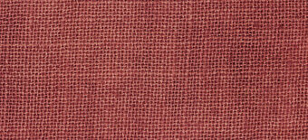 32 Count Aztec Red Linen Fabric 17x26