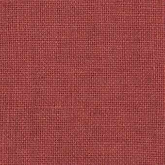 36 Count Aztec Red Linen Fabric 17x26