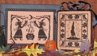 Bewitched (One Color Wonders) - Cross Stitch Pattern