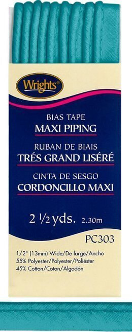 "Bias Tape Corded Maxi Piping 1/2"" - #1242 Mediterranean"