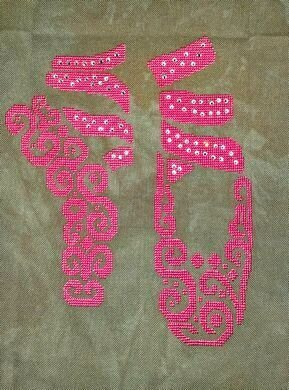 Tribal Ballet - Cross Stitch Pattern