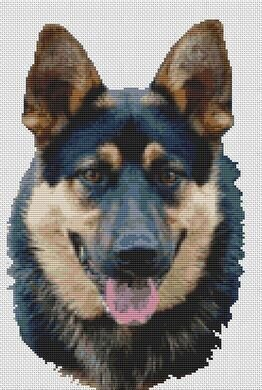German Shepherd - Determination - Cross Stitch Pattern