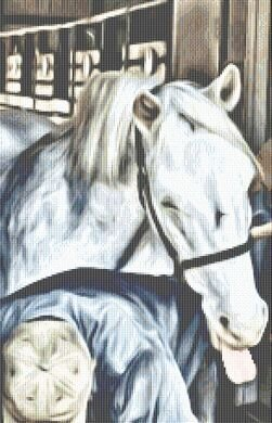 Farrier Day - Cross Stitch Pattern