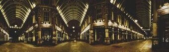 Leadenhall Market - Cross Stitch Pattern