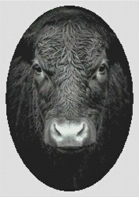 No Bull - Cross Stitch Pattern