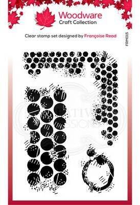 Grungy Dots Texture - Clear Singles Stamp