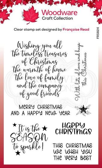 Special Christmas Words - Clear Singles Stamp