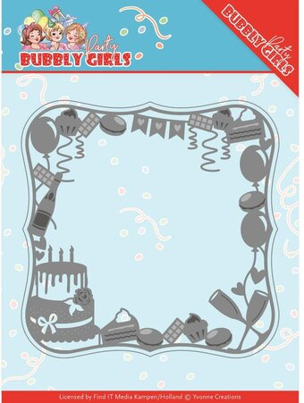 Celebration Frame - Bubbly Girls Party - Craft Die