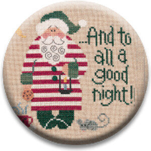 A Good Night Santa 04 - Zappy Dots Needle Nanny