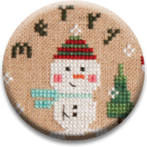 Merry - Tiny Tidings XXI - Zappy Dots Needle Nanny