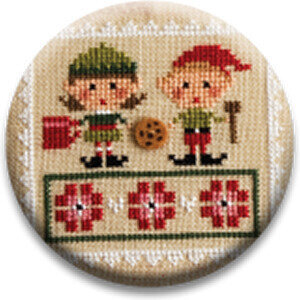Elves - Tiny Tidings XXII - Zappy Dots Needle Nanny