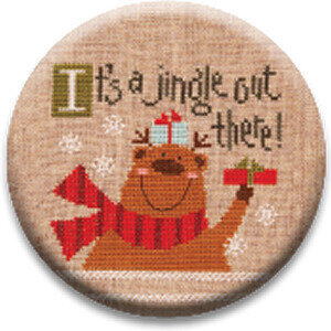 It's a Jingle Out There - Zappy Dots Needle Nanny
