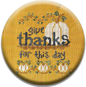 Give Thanks for This Day - Zappy Dots Needle Nanny