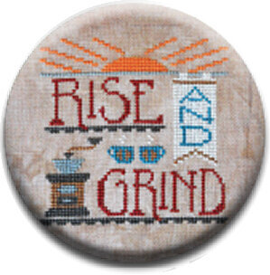 Rise and Grind - Zappy Dots Needle Nanny