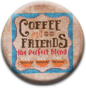Coffee and Friends - Zappy Dots Needle Nanny