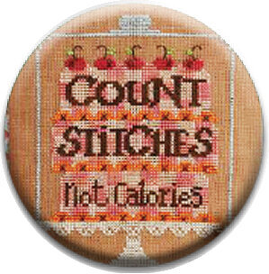 Count Stitches Not Calories - Zappy Dots Needle Nanny