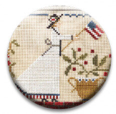 Suffrage Act Little House Needleworks Cross Stitch Pattern