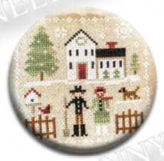 Christmas Farm Folk - Zappy Dots Needle Nanny