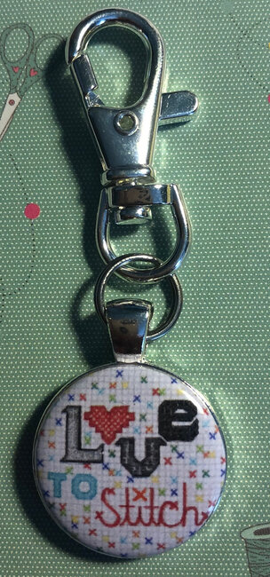 Love to Stitch - Scissor Fob