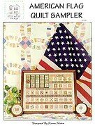 American Flag Quilt Sampler - Cross Stitch Pattern