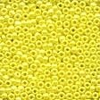 Mill Hill 00128 Yellow Glass Beads - Size 11/0