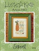 Autumn ABC's - Cross Stitch Pattern