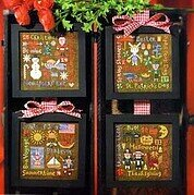 Holiday Seasons - Cross Stitch Pattern