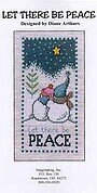 Let There Be Peace - Cross Stitch Pattern