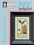 Spring Bird (wee One) - Cross Stitch Pattern