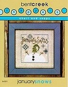 January Snows - Snappers - Cross Stitch Pattern
