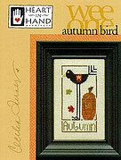 Autumn Bird (Wee One) - Cross Stitch Pattern