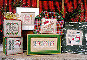 Tiny Tidings VIII - Cross Stitch Pattern