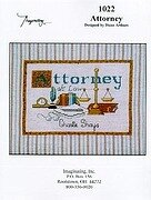 Attorney - Cross Stitch Pattern