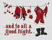 Good Night - Cross Stitch Pattern