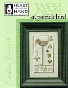 St Patrick Bird (Wee Ones) - Cross Stitch Pattern