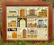 Houses of Hawk Run Hollow - Cross Stitch Pattern