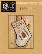 Holiday Home Stocking- Cross Stitch Pattern