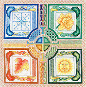 Celtic Seasons - Cross Stitch Pattern