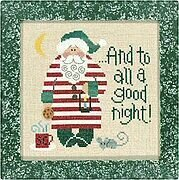 Good Night Santa, A 04 - Cross Stitch Pattern