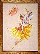 Petal Fairy - Mirabilia Cross Stitch Pattern