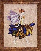 Feather Fairy - Mirabilia Cross Stitch Pattern