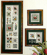 Tulip Quilt Sampler - Cross Stitch Pattern